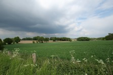 Blick aus Bahnhof Reken nach Norden