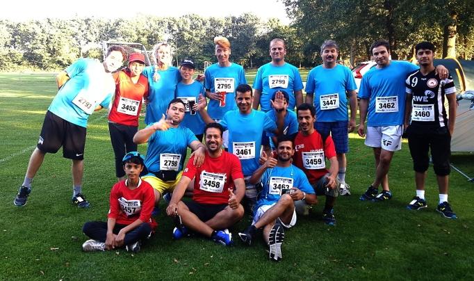 Laufteam, auch im MfR-Trikot