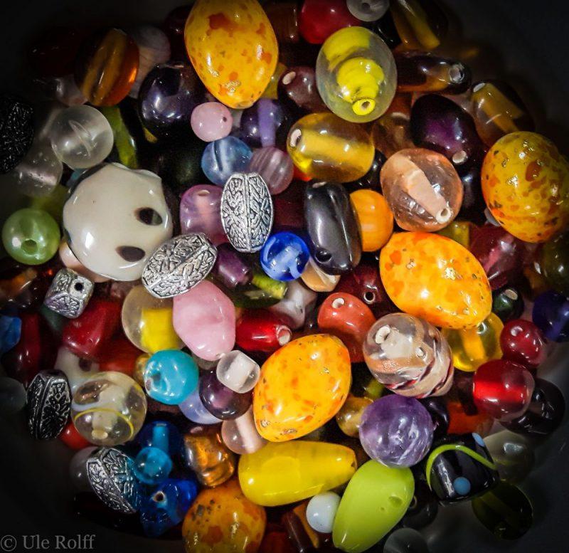 Bunte Perlen