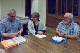 Torsten Henseler, Gabi Bücker, Albert Paus
